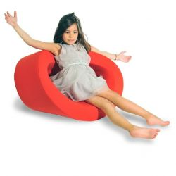 Baby Co.o Cacoon Seat- Optimism Red