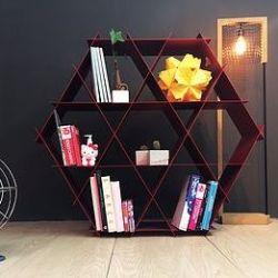Aluminum Shelf | Red Brick