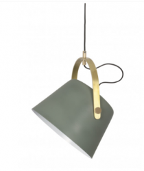 Jane Metal Pendant Lamp | Matte Green