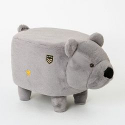 Pouf | Bear Grey