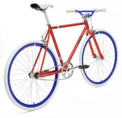 Chill Bikes | Base Red - Blue