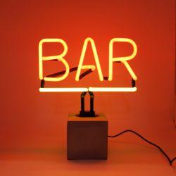 Neon Licht Beton | Bar