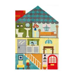 Teppich Home Sweet Home | Large