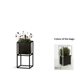 Modular Planting System 2x Black + 1 Anthracite Bag