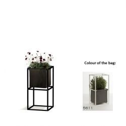 Modular Planting System 2x Black + 1 Dark Grey Bag