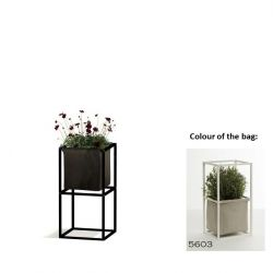 Modular Planting System 2x Black + 1 Light Grey Bag