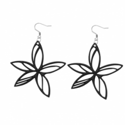 Hawaï Earrings | Black