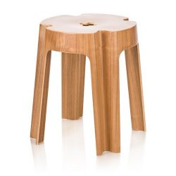 Bloom Stool - Walnut