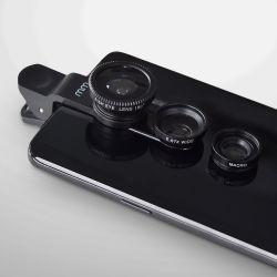 Smartphone-Objektivsatz 3-in-1