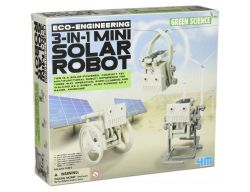 DIY Kit 3 in 1 Mini Solar Robot