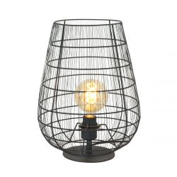 Tischlampe 1-L 3002ZW | Schwarz