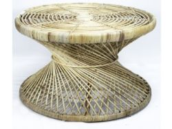 Coffee Table Cross | Rattan