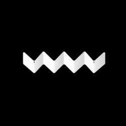 Garderobe ZigZag | Weiß