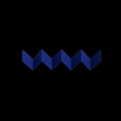 Garderobe ZigZag | Blau
