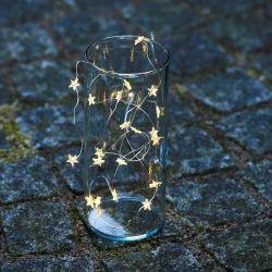 Guirlande LED Trille Etoiles | Argent