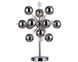 Table Lamp Explosion | Chrome