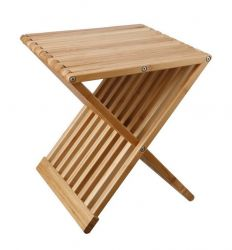 Table d' Appoint Tiger | Bois de Bambou