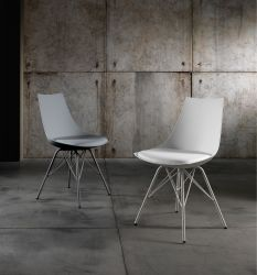 Set of 2 | Chairs Kiki | Grey