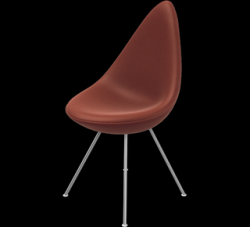 Drop Chair | Leather Cognac