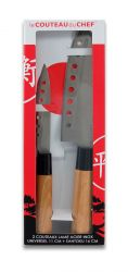 2-er Set Japanischen Messern | Silber