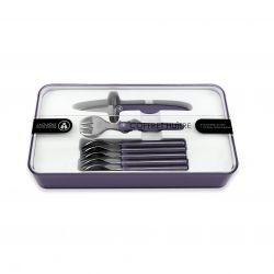 Oyster Set Laguiole Evolution | 6 Forks + 1 Knife