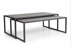 Table Basse Set de 2 Reims | Anthracite