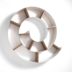 Wall Shelf Chiocciola | White