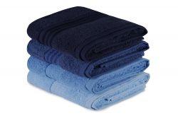 Handtuch Rainbow 4er-Set | Blau
