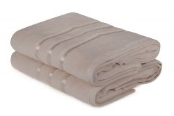 Bath Towel Dolce Set of 2 | Light Yellow