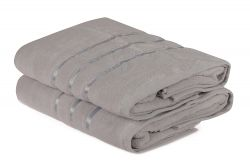 Bath Towel Dolce Set of 2 | Light Grey