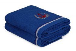 Handtuch Maritim 2er-Set | Blau
