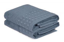 Handtuch Cisil 2er-Set | Blau