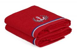Hand Towel Maritim Set of 2 | Red