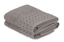 Hand Towel Cisil Set of 2 | Light Grey