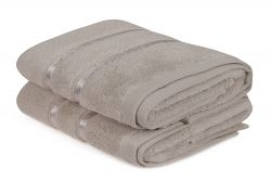 Hand Towel Dolce Set of 2 | Light Brown