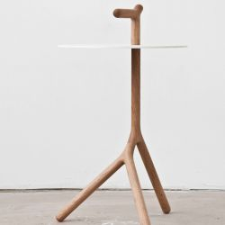 Yot Side Table | White