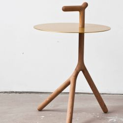 Table d'Appoint Yot | Or