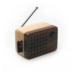 Tiny Wooden Emotion 2 Speaker (Built-in FM Radio)