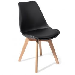 Set of 4 | Chair Wood Kiki | Black