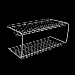 Draining Rack Duotex | Silver