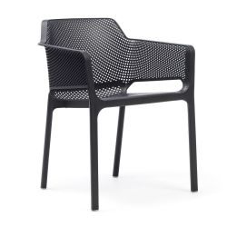 Chaise Empilable Net | Anthracite