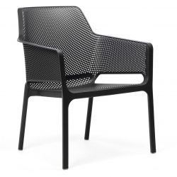 Chaise Empilable Net Relax | Anthracite