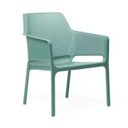 Stackable Armchair Net Relax | Green