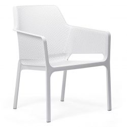 Stackable Armchair Net Relax | White