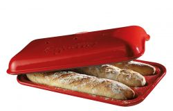 Baguette Baking Tin | Red
