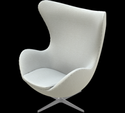 Egg Lounge Chair | Sand Divina Melange
