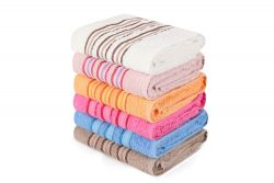 Hand Towel Serit Set of 6 | Multicolour