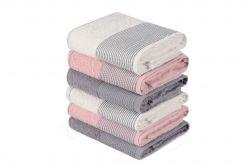 Handtuch Fitilli 6er-Set | Grau