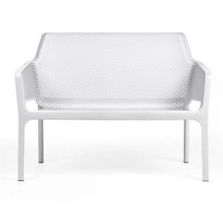 Sofa 2 Seats Net | White
