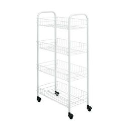 Kitchen Trolley Pisa | White